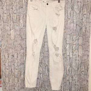 Joe's jeans white size 28 distressed